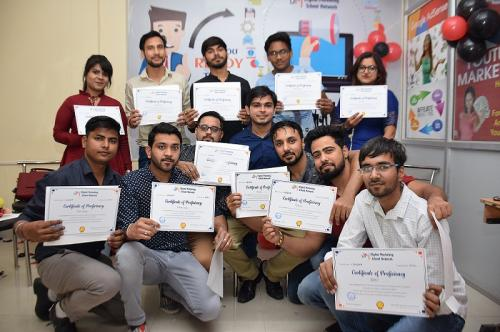 dmsn rohini Digital marketing batch passout farewell